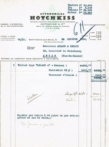 19301022 Facture