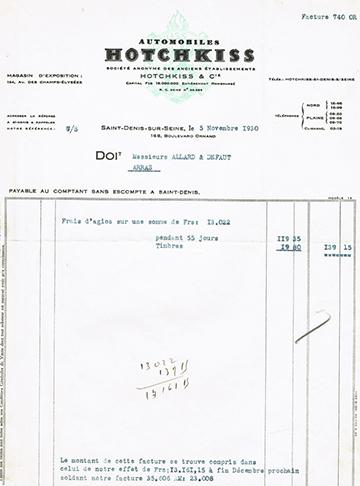 19301105 Facture