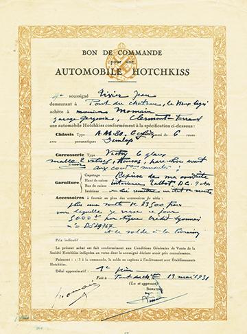 19310513 Bon de Commande