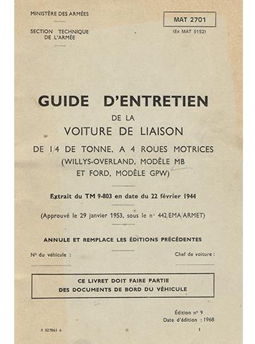19680001 Jeep Entretien