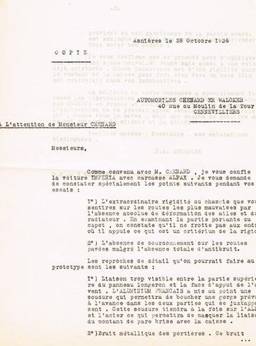 19361028 J. A. Gregoire Chenard Walcker