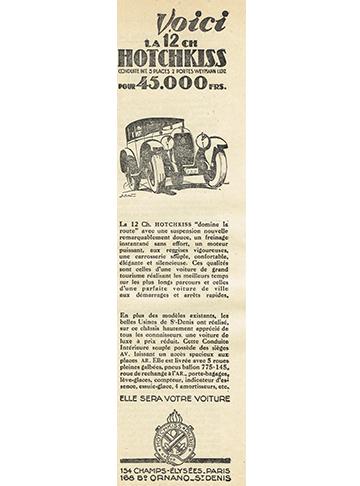 19280002 Hotchkiss 12 CV