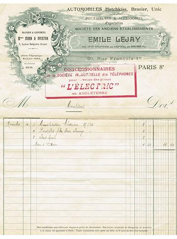 19061110 Facture