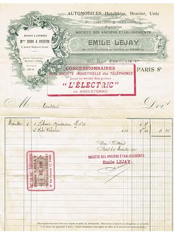 19061204 Facture