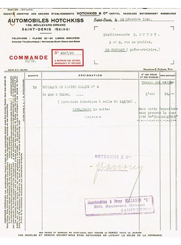 19301223 Commande