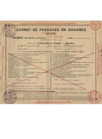 19340812 Carnet Douanes