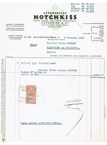 19351106 Facture