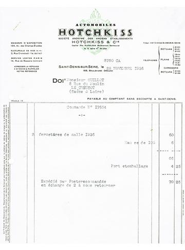 19361128 Facture