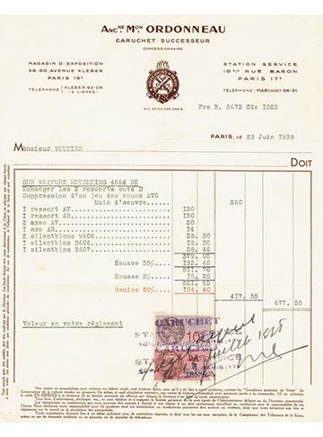19380623 Facture