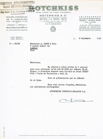 19540909 Usine Hotchkiss-Delahaye