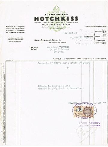 19340705 Facture