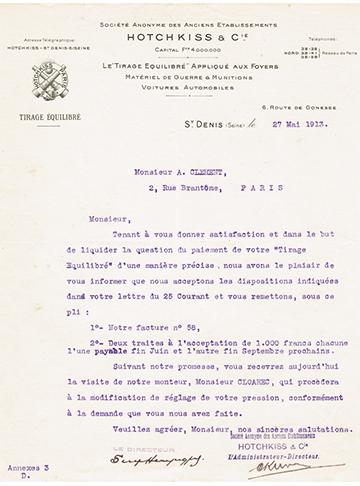 19130527 Lettre Usine