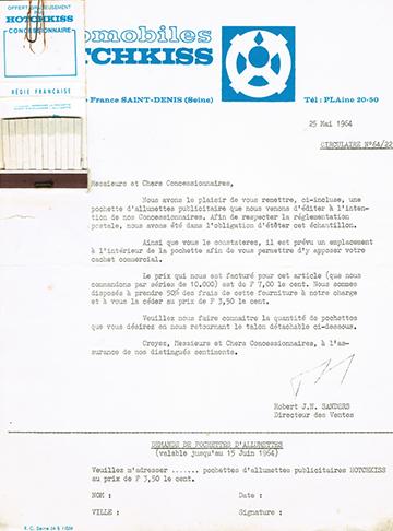 19640525 Hotchkiss Usine