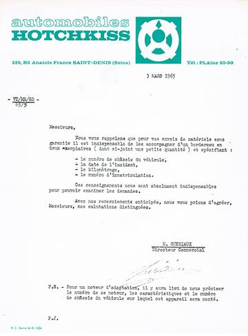 19650303 Hotchkiss Dreye