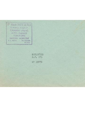 19651201 Envelope Alexis Dreye