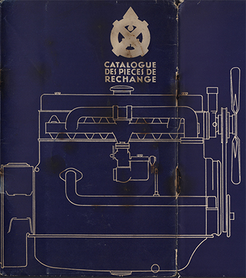 1932 Catalogue des Réparations