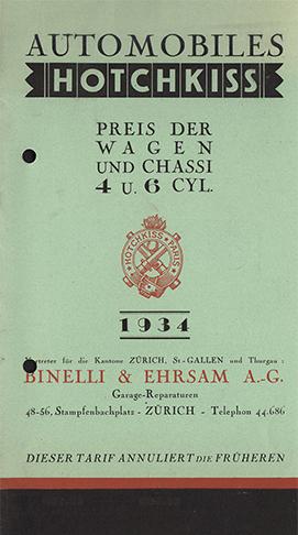 1934 - CH