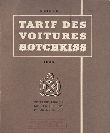 1936 - CH